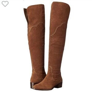 MAKEOFFER🔥FRYE RAY GROMMET OVER T KNEE SUEDE BOOT